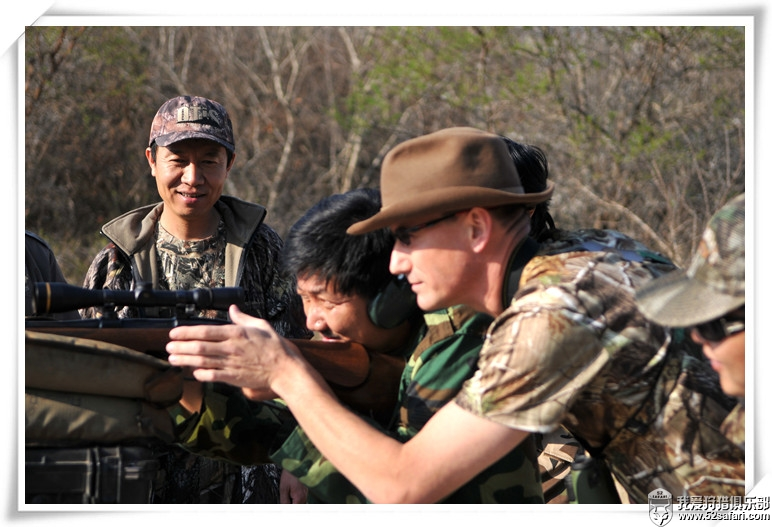 Scott training shooting 52safari 我爱狩猎俱乐部