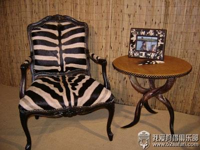 斑马 狩猎 家具 沙发