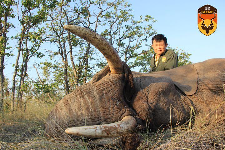 中国人国外狩猎