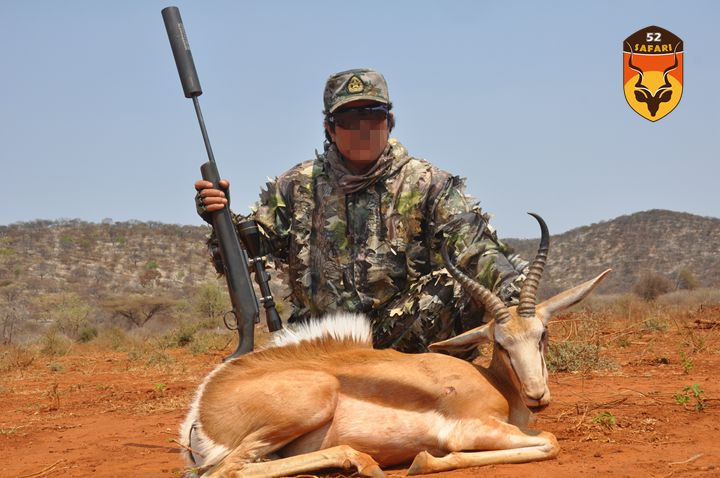 纳米比亚狩猎 狩猎 国外狩猎 国际狩猎 非洲狩猎 纳米比亚 纳米比亚打猎 跳羚 狩猎跳羚 非洲跳羚 打猎