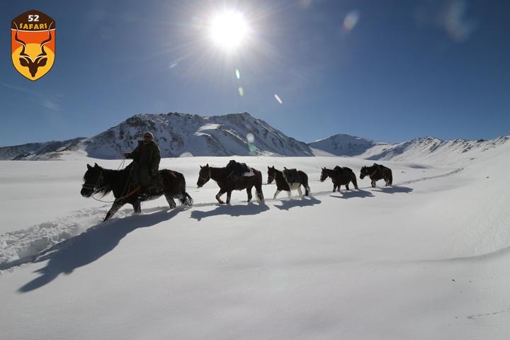 亚洲骑马狩猎