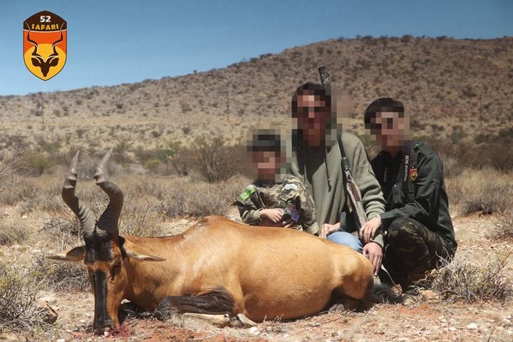 南非狷羚狩猎