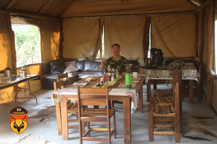纳米比亚狩猎营地