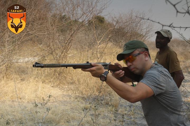 纳米比亚练枪