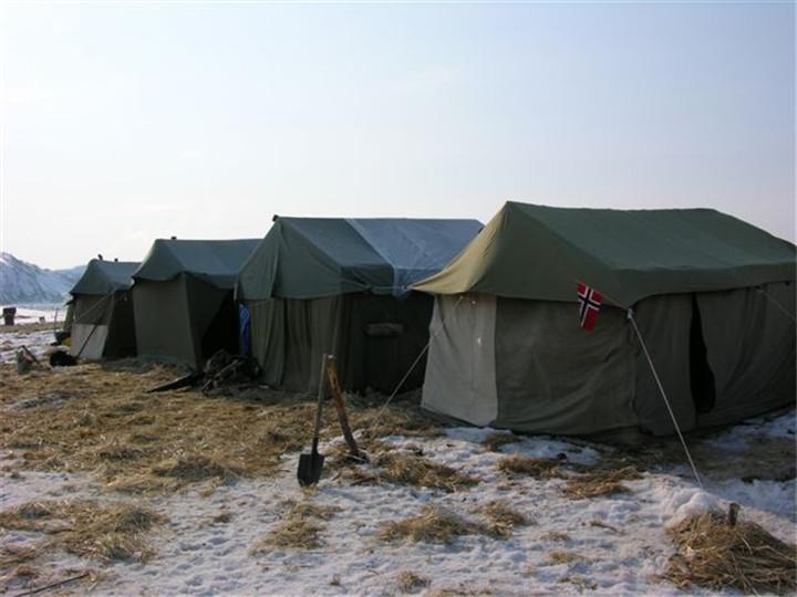 俄罗斯狩猎帐篷