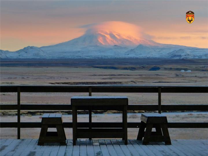 冰岛狩猎营地