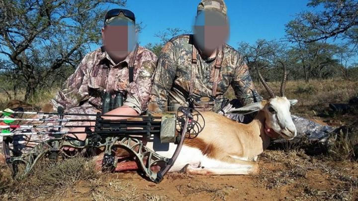 南非弓猎 复合弓狩猎