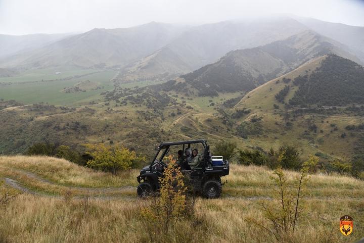 新西兰猎车