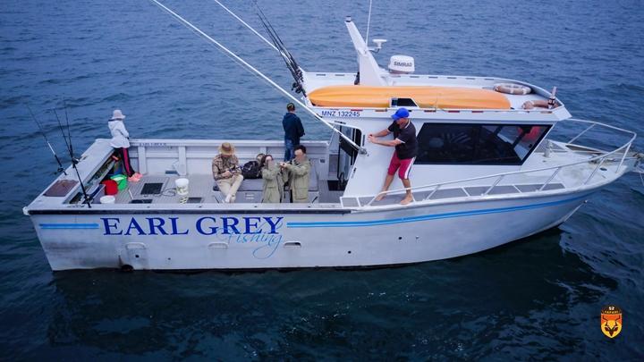 新西兰海钓团