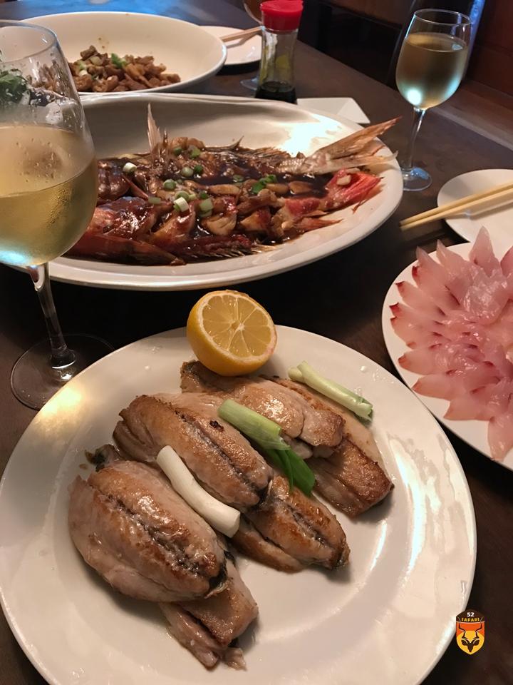 新西兰吃鱼