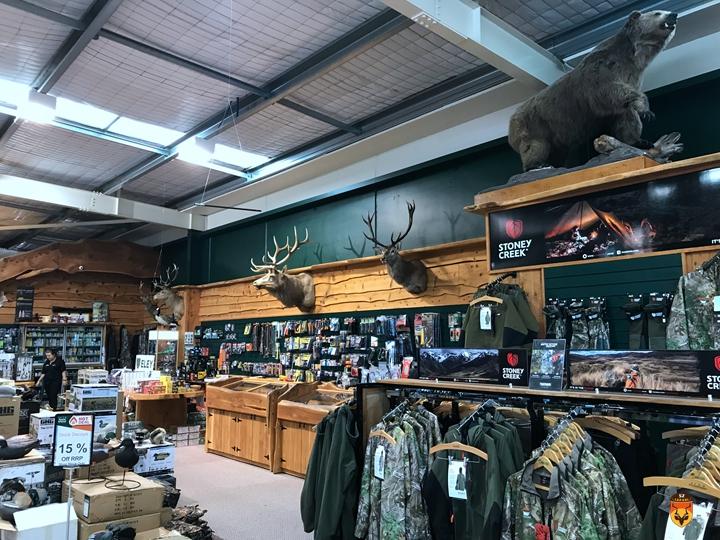 新西兰狩猎用品