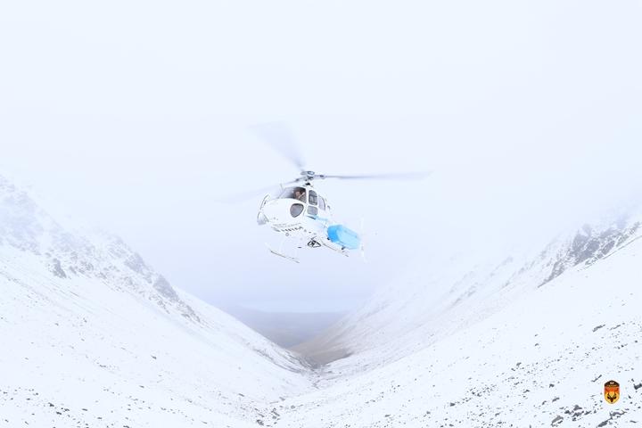 新西兰直升飞机狩猎团