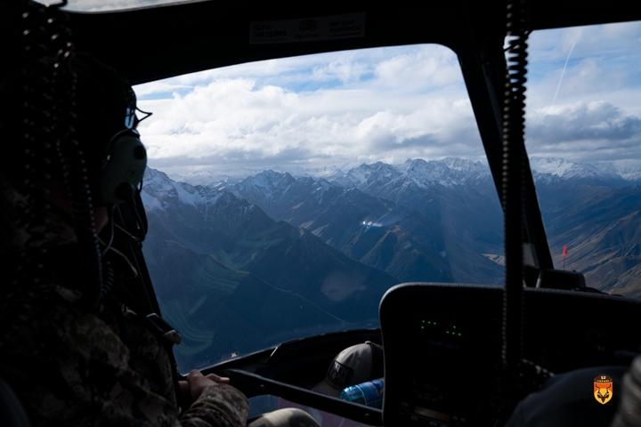 新西兰直升飞机狩猎