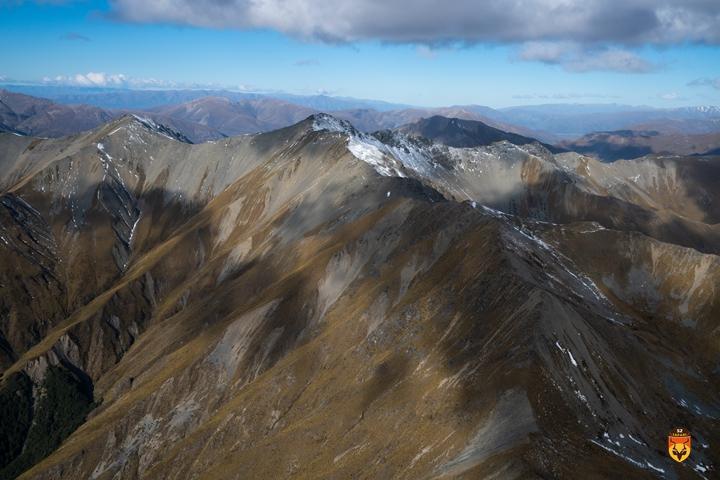 新西兰直升飞机狩猎活动