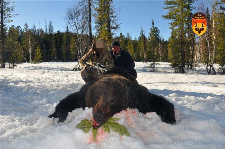 贝加尔湖熊狩猎团