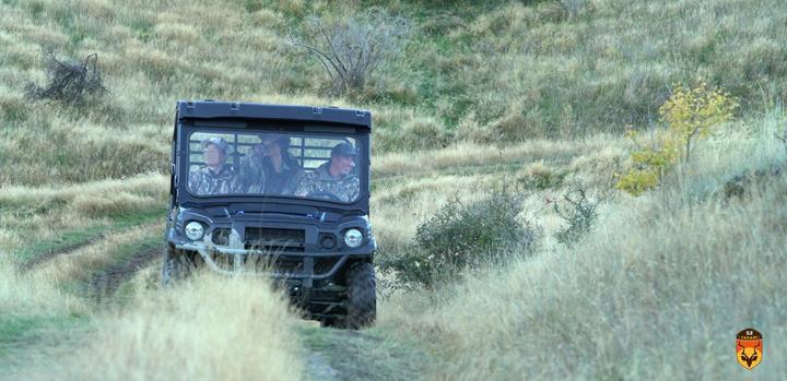 户外狩猎车