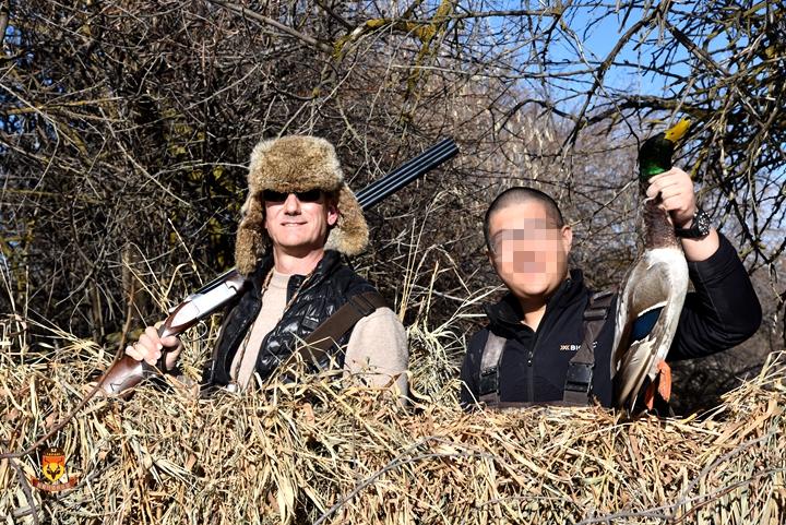 北美鸭子狩猎