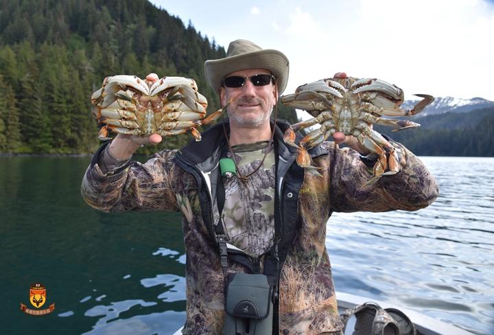 卢彬抓了阿拉斯加螃蟹
