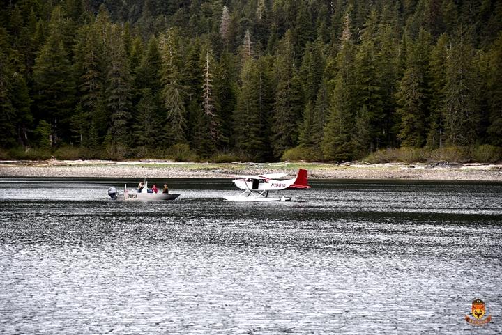 阿拉斯加水上小飞机