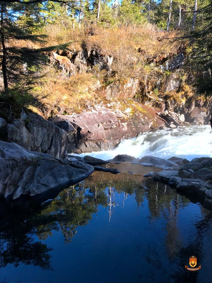 阿拉斯加天然温泉