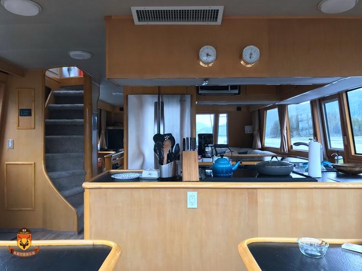 阿拉斯加游艇厨房