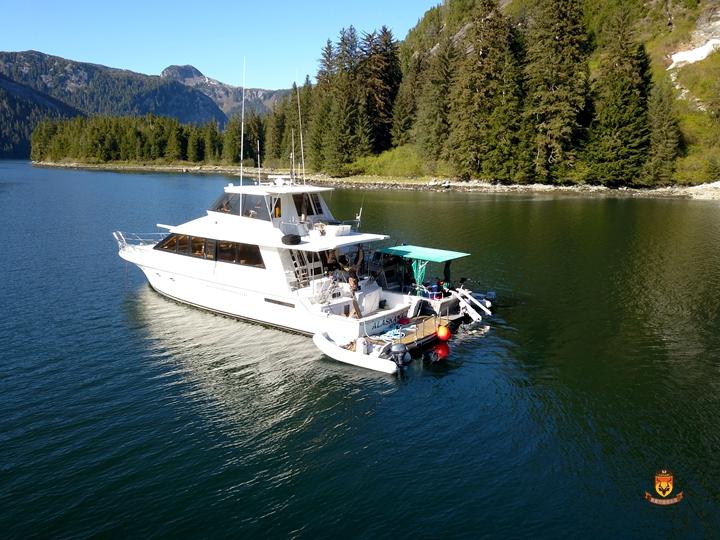 阿拉斯加游艇钓鱼
