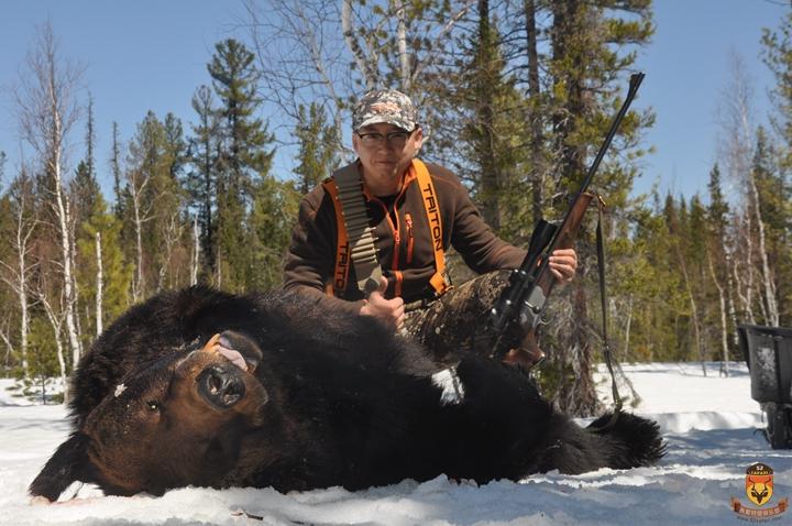 俄罗斯狩猎 棕熊狩猎