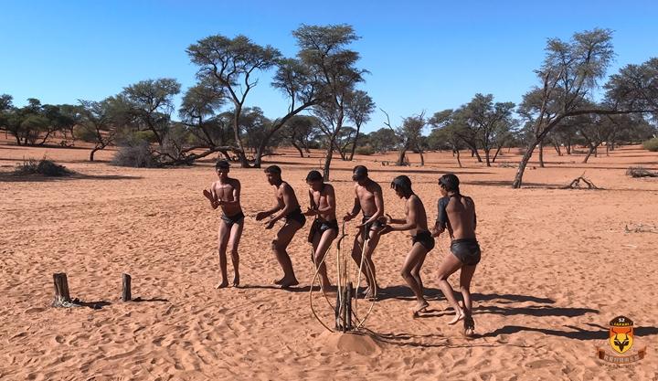 纳米比亚SAN民族表演