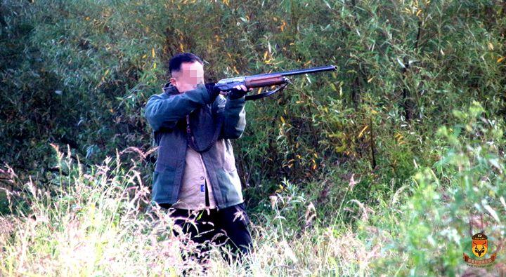 塞尔维亚野鸭狩猎
