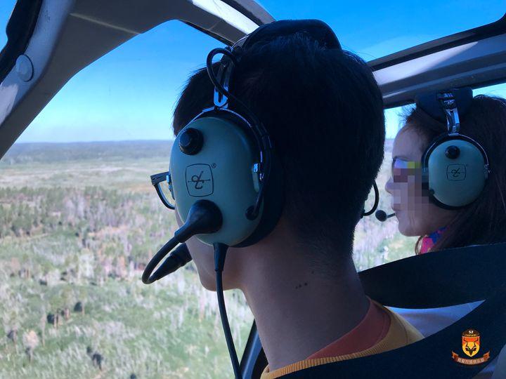 大峡谷直升飞机
