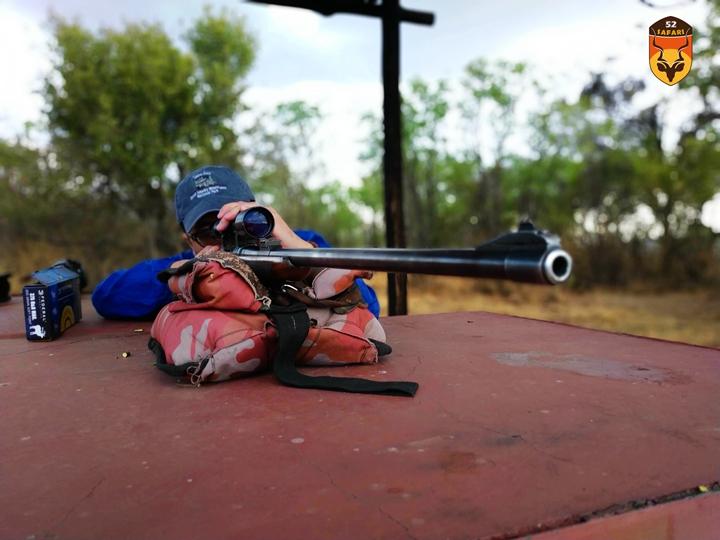 南非猎场练枪