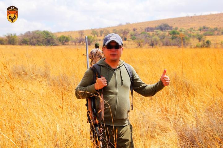 中国人南非打猎