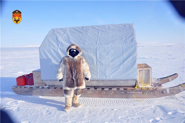 北极熊狩猎营地