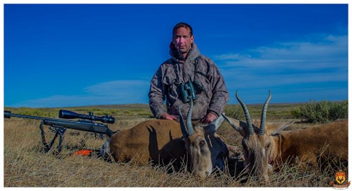 蒙古黄羊狩猎团