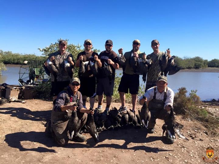 北美鸭子狩猎团